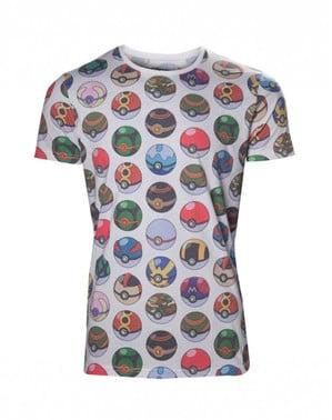 T-shirt de Pokeballs