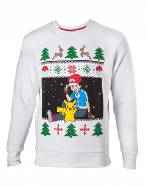 Christmas Pokémon sweatshirt for men