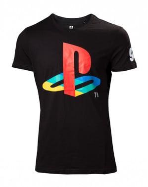 Svart PlayStation t-skjorte