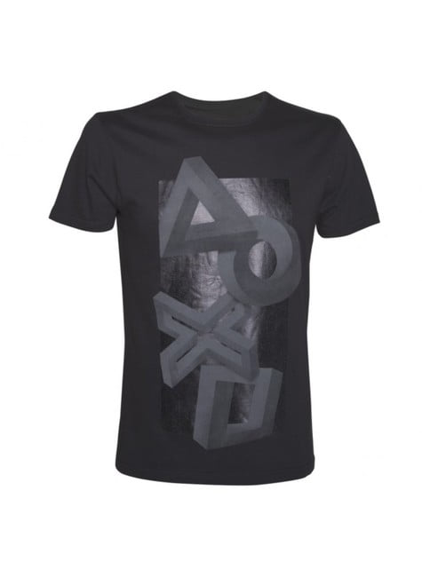 Perspective PlayStation button t-shirt