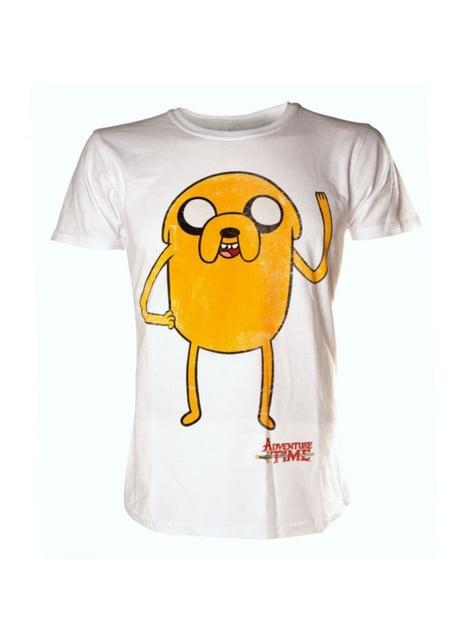 White Jake Adventure Time t-shirt