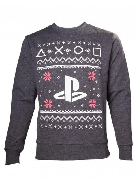 Weihnachtlicher Pullover PlayStation für Erwachsene