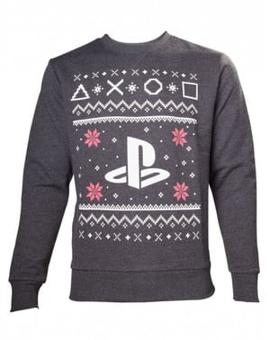 Christmas PlayStation sweatshirt for adults