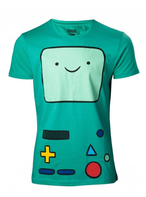 Blue BMO Adventure Time t-shirt