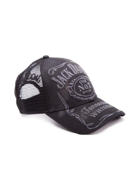 Boné de Jack Daniel's preto