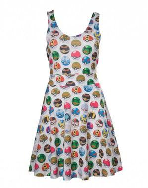 Pokeball kjole til kvinder