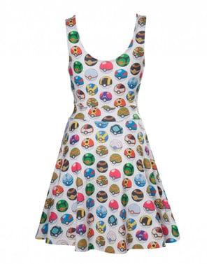 Kleid Pokeball für Frauen