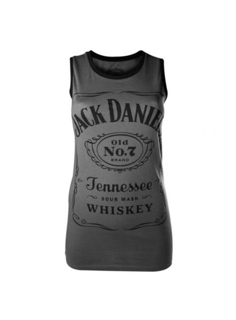 Grey Jack Daniel's t-shirt for women