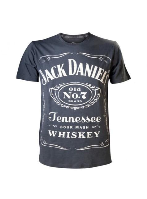 Grey and black Jack Daniel's t-shirt