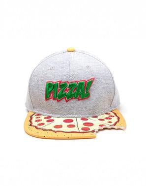 Boné de pizza Tartarugas Ninja