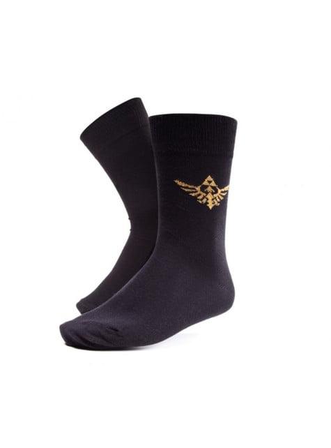 Black Zelda socks for adults