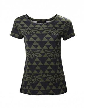 T-shirt de Hyrule Zelda para mulher