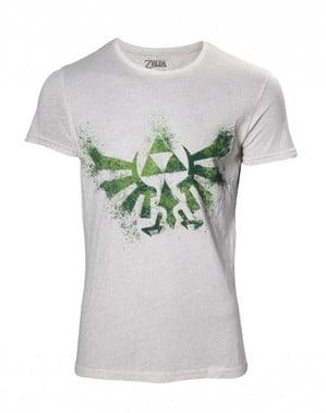 Бяла тениска на Zelda за жени