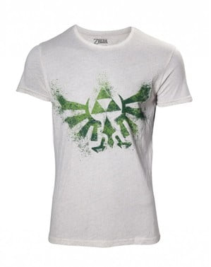 White Zelda t-shirt for women