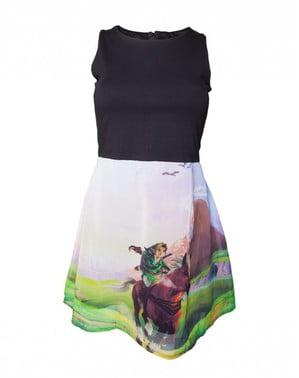 女性用ゼルダオカリナオブタイムドレス