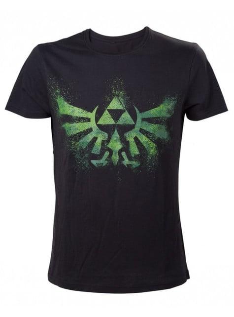 Camiseta de Zelda negra y verde