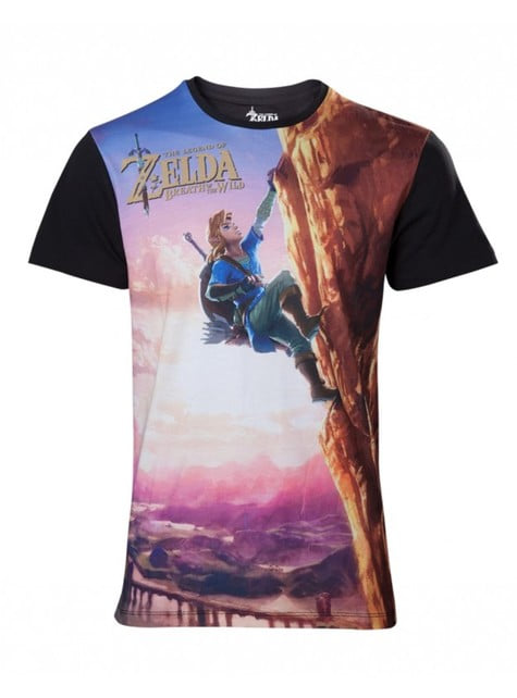 Zelda Breath Of The Wild t-shirt