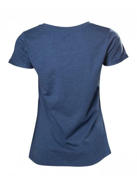 Blue Zelda Breath Of The Wild t-shirt for women
