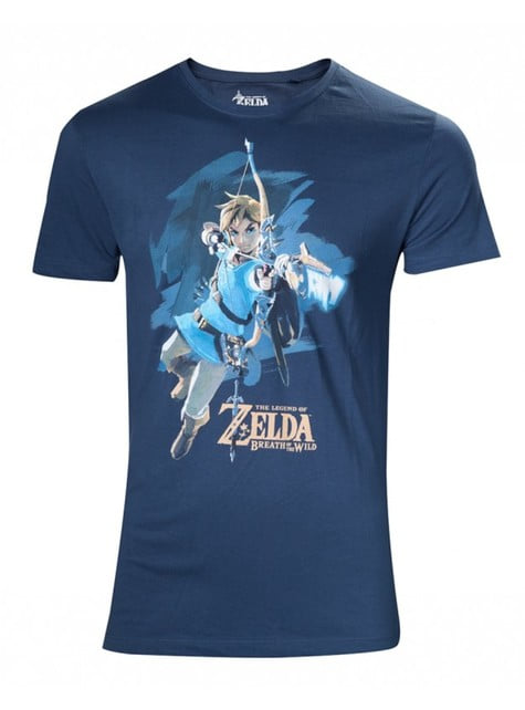 Blue Zelda Breath Of The Wild t-shirt