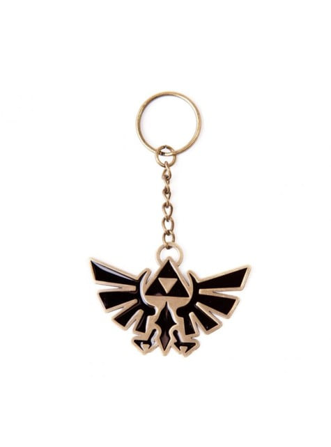 Llavero de símbolo Hyrule Zelda