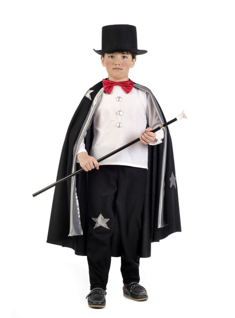 Magician Illusionist Costume for boys