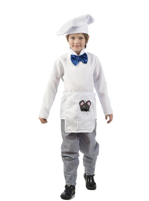 Elegant chef costume for children