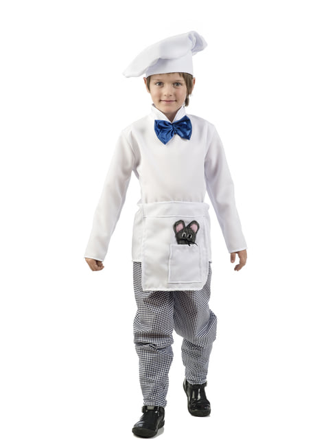 Fato de chef elegante para menino