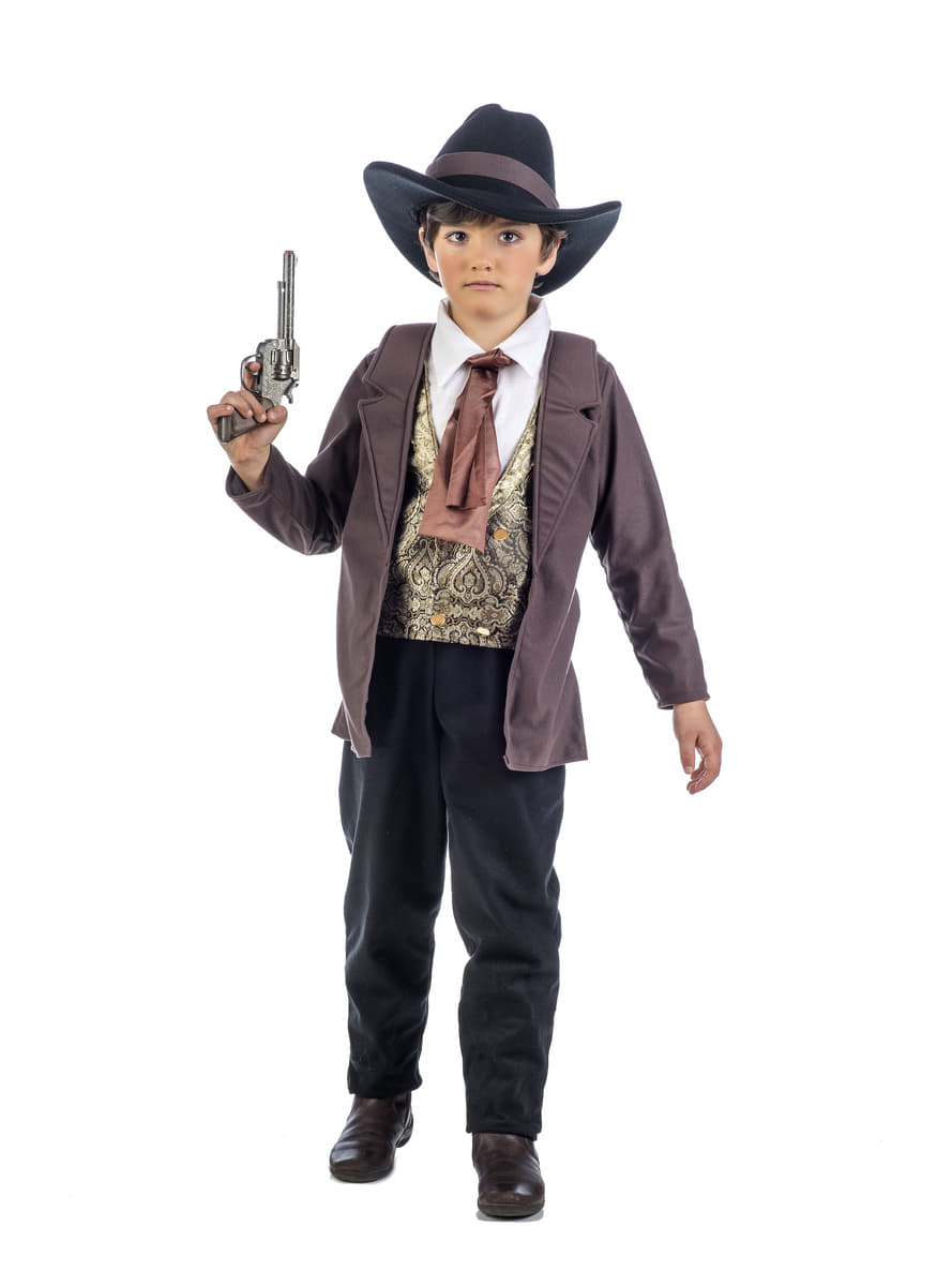 D guisement cowboy du far west deluxe enfant funidelia - Deguisement cowboy enfant ...