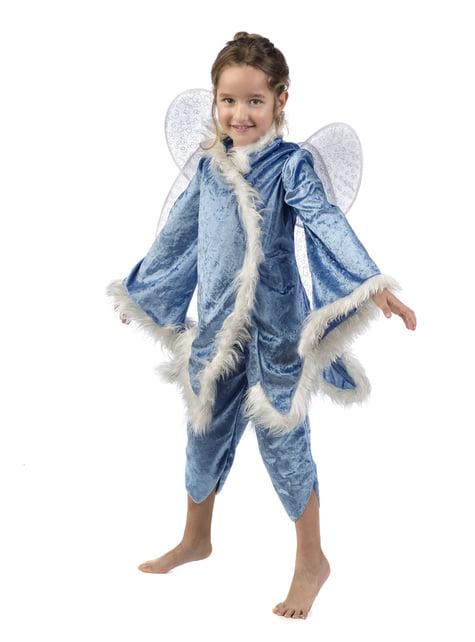 Ice elf costume for girls