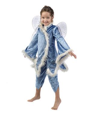 Costum elfa gheții pentru fată
