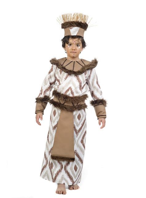 תלבושות נסיך טרופיות עבור בנים
