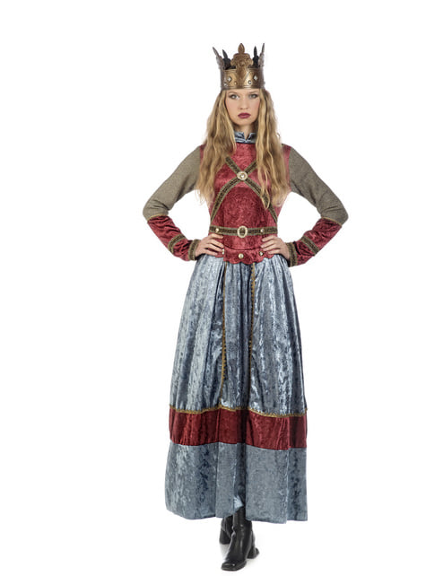 Queen Elizabeth costume for women