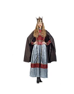 Koningin Elizabeth cape voor vrouw