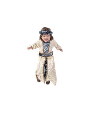 Middeleeuwse prinses kostuum elegant voor meisjes