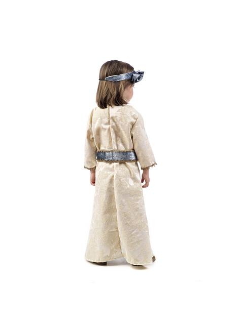 Elegáns középkori hercegnő ruha lányoknak