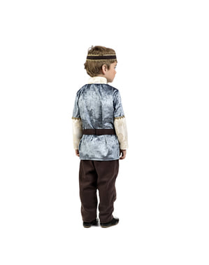 Elegant middelleeuws prins kostuum voor kinderen