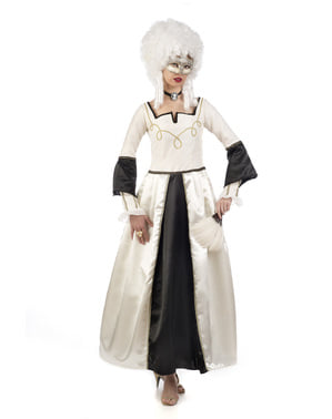 Dámský kostým barokní dáma
