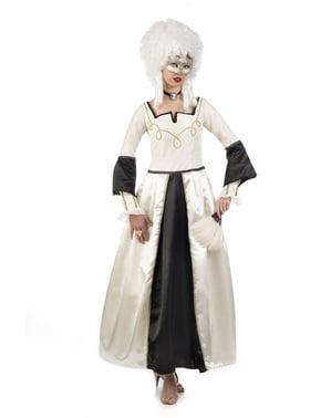 Disfraz de dama del barroco para mujer
