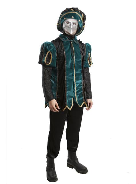 Disfraz de caballero veneciano para hombre