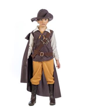 Disfraz de aventurero medieval deluxe para niño