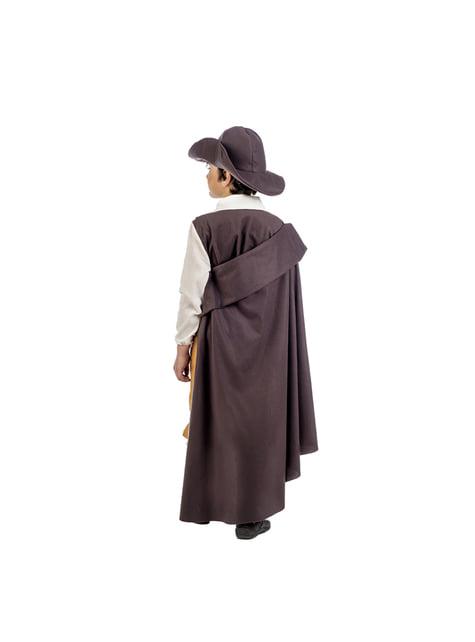 Disfraz de aventurero medieval deluxe para niño - infantil
