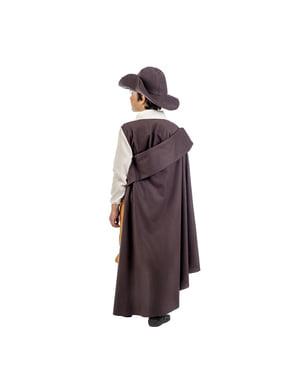 Costume da avventuriero medievale deluxe per bambino