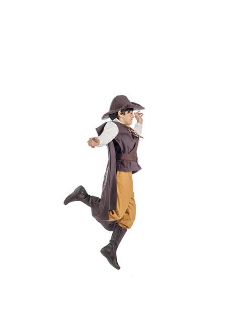 Disfraz de aventurero medieval deluxe para niño - original