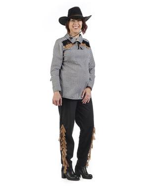 Cowgirl Kostüm für schwangere Frauen