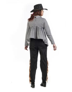 Costum de cowboy pentru gravide