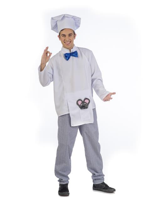 Fato de chef elegante para homem