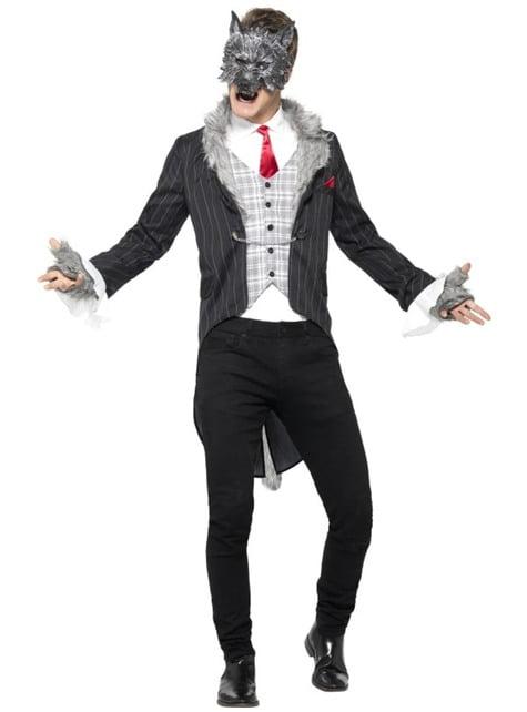 Werewolf dressed costume for men