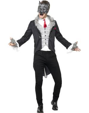 Wolfsmensch im Anzug Kostüm für Männer
