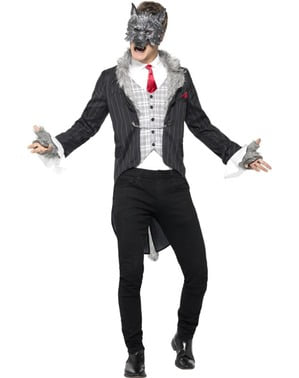Werewolf dressed costume for men