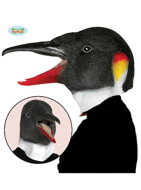 Máscara de pinguim para adulto